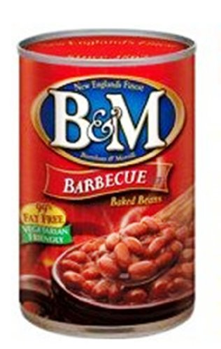 B&M Baked Beans, Bbq, 16 Ounce (Pack Of 24)