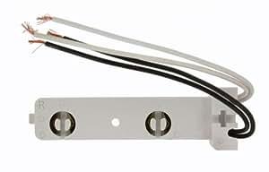 Leviton 521-1W Fluorescent Lampholder, Medium Bi-Pin For T8 and T12 Lamps