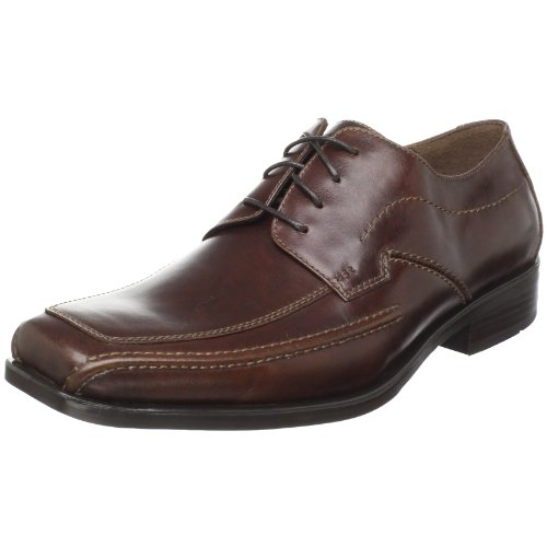 Johnston & Murphy Men's Glenager Moc Oxford,Brown Italian Calfskin,8.5 M US