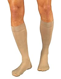 Relief 15-20 mmHg Open Toe Knee High Unisex Support Sock Size: Medium