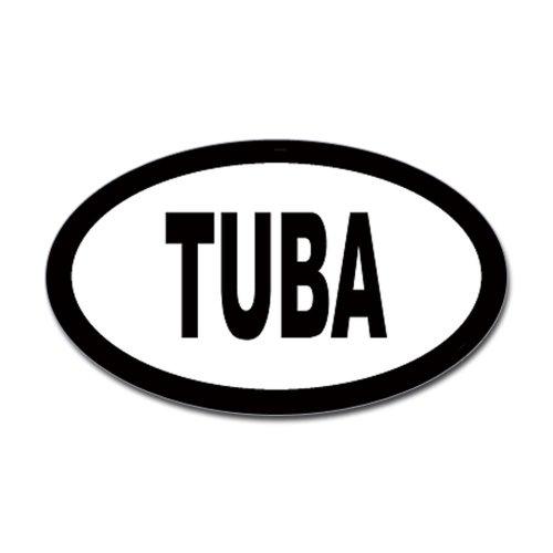 CafePress Tuba Oval Sticker Sticker Oval - 3x5