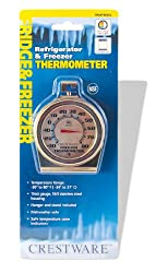 Crestware Refrigerator/Freezer Thermometer Large Face