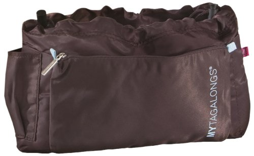 Mytagalongs Purse Organizer, Chocolate, Sport