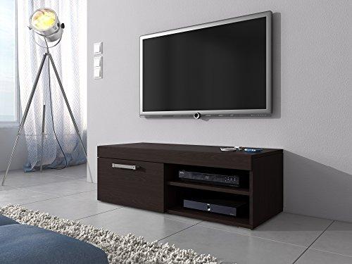 TV-Element-TV-Schrank-Stnder-Mambo-Eiche-dunkelbraun-Wenge-120-cm