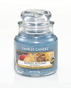 Blissful Autumn Small Jar Candle - Yankee Candle
