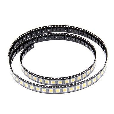 Zcl Diy 5050Smd 10-17Lm 3000-3500K Warm White Light Led Chip (2.8-3.6V/100Pcs)