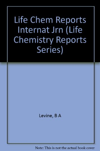 Cellular Function Of Calcium In Plants (Life Chemistry Reports Series)