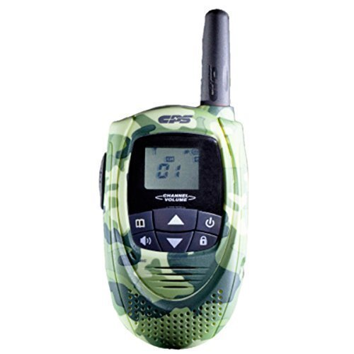 CPS CP101 Walkie Talkie FRS (Owner of US Design Patent,Will Take Legal Action To Stop Infringing Product T228) (Camouflage-81)(1 Piece)