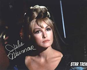 Star Trek Original Series Julie Newmar Autograph Photo