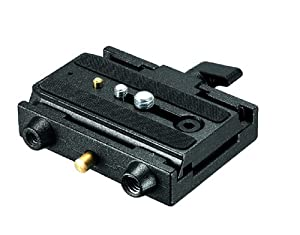 Manfrotto 3433PL 577 Rapid Connect Adapter with Sliding Mounting Plate