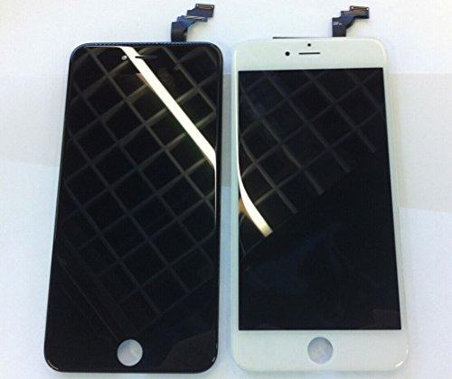 iPhone6 液晶パネル フロントパネル アイフォン6 スクリーン タッチパネル 修理パーツ 検品証明あり 純正品 (iPhone6, 白)