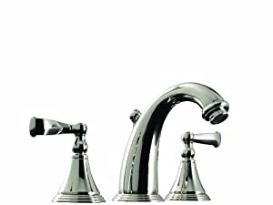 Santec Kriss Collection Widespread Lavatory Faucet 2220cn55 Touch On Bathroom Sink Faucets