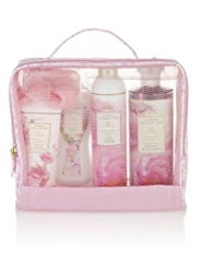 Floral Collection Rose Toiletry Bag