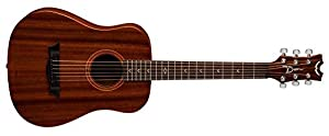 Dean FLY MAH Flight Series 3/4 Size Travel Acoustic Guitar, Mahogany by Dean