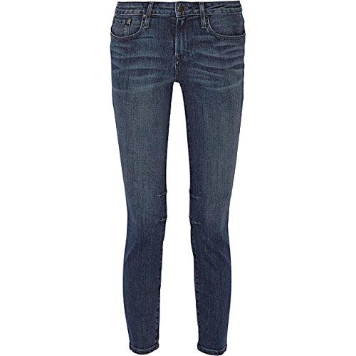 (ヘルムート ラング) HELMUT LANG レディース ボトムス ジーンズ Mid-rise stretch-denim skinny jeans Mid denim 24 [並行輸入品]