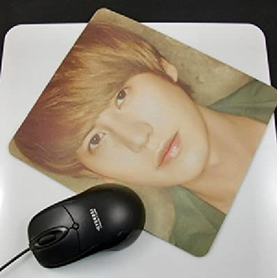 Super Junior Cho Kyuhyun Personalized Rubber Mouse Pads Cool Mousepad 7.87 x 9.05 Inch, 1Pc