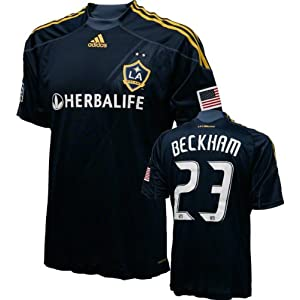 David Beckham Game Used Jersey  Los Angeles Galaxy  23 Short Sleeve Away  Jersey 8ac93ada5