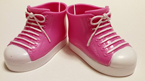 18-inch Doll Pink Hightop Sneakers