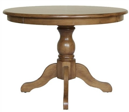 Buy Low Price Carolina Chair & Table Carolina Cottage English Pine Finish Winslow Pedestal Dining Table (B001BDU6J0)