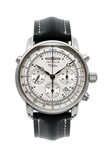 Zeppelin mens watch Serie 100 Jahre Zeppelin Chronograph automatic 7620-1