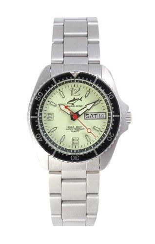 Chris Benz One Medium CBM-N-SW-MB Reloj unisex Reloj de Buceo