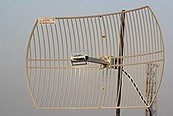 NPC 2.4 Ghz 24 dBI high gain GRID antenna for wifi /analog use