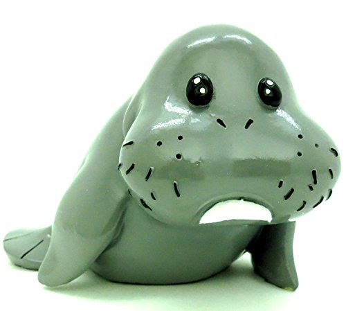 Whimsical Baby Manatee Coin Bank 6.5 In. - 1