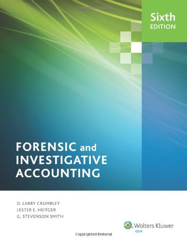Forensic And Investigative Accounting (6Th Edition)