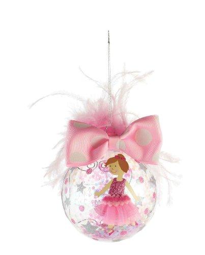 Mud Pie Princess Ornament, Brunette front-516814