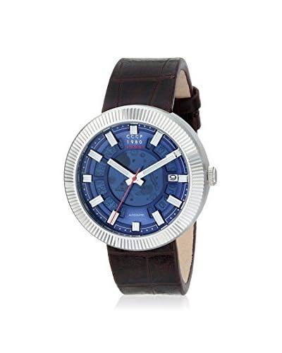 CCCP Men's CP-7025-02 Monino Brown Leather Watch