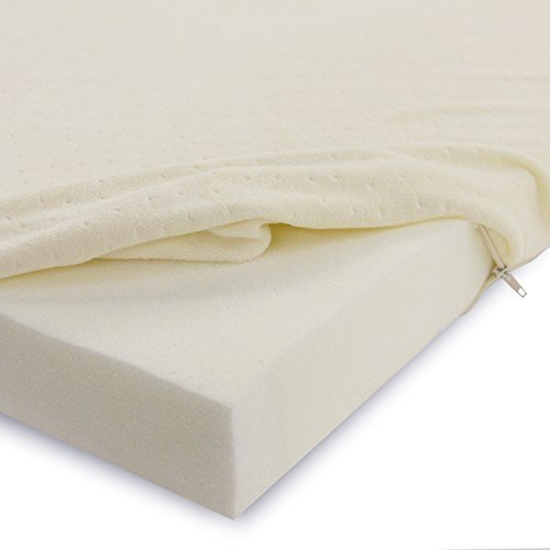 O0o Classic Brands 2 Inch Memory Foam Mattress Pad Bed Topper Twin Extra Long Size