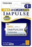 東芝 充電式ニッケル水素電池インパルス【IMPULSE】 (単1形min.8000mAh 1本)