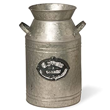 "National Tree Garden Accents Iron Pot, 15"", Grey"