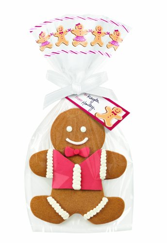 Wilton Cookie Bag Kit 4/Pkg Gingerbread People