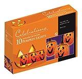 Celebrations Halloween Pumpkin Lights 10 Lights