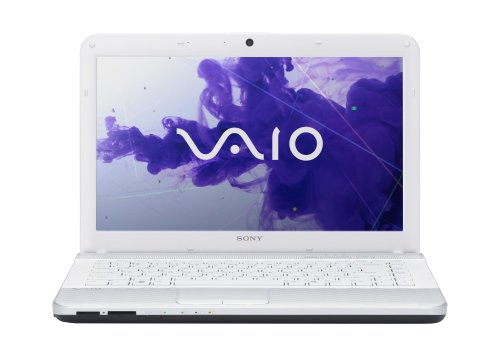 Sony EG3 Series Laptop VPCEG3PFX/W 14-Inch Laptop (Glacier White)