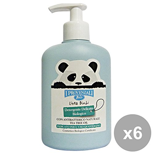 Set 6 I PROVENZALI Bimbi Detergente Delicato Bio 200 Ml. Linea Bimbo