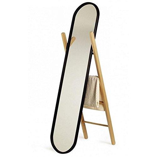Umbra Hub Floor Length Mirror with Storage Rack