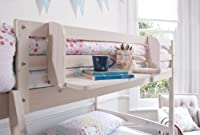 Cabin Bed Shelf Multi Purpose shelf ideal for Midsleepers WHITEWASH