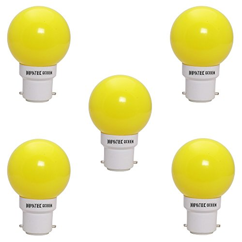 0.5W-LED-Bulb-(Yellow,-Pack-of-5)