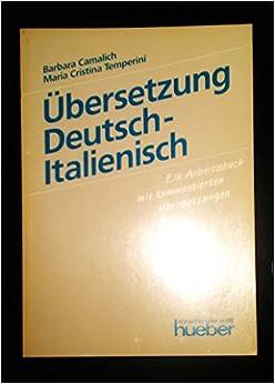 bersetzung deutsch italienisch ein arbeitsbuch mit On ubersetzung italienisch