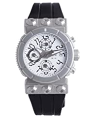Inexpensive!! RSW Men's 4125.MS.R1.H22.00 Outland Automatic Round White Dial Chronograph Watch Limited time