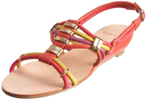 Carvela Women's Karina Wedge Sandal Pink 1926357109 8 UK