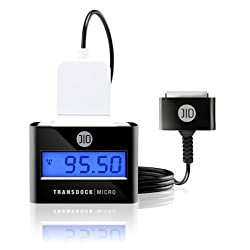 DLO TransDock FM Transmitter and Charger for Sandisk Sansa MP3 Music Players