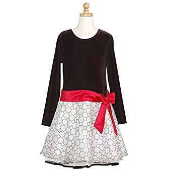 White glitter dots christmas dress 12 5 special occasion dresses