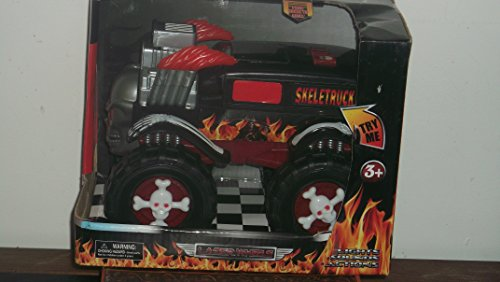 "Skeletruck Lights Sounds and Action Vehicle 10"" By 7"" By 5.5"""