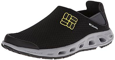 Columbia Men's Ventslip Water Shoe,Black/Autzen,8 D US