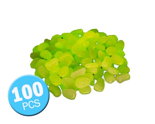100-Pcs-Cailloux-Galets-Brillants-Phosphorescent-Artificiel-pour-la-Dcoration