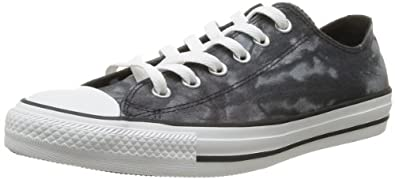 Converse Chuck Taylor All Star Tie Dye Ox, Baskets mode mixte adulte - Noir (Noir/Blanc), 36 EU