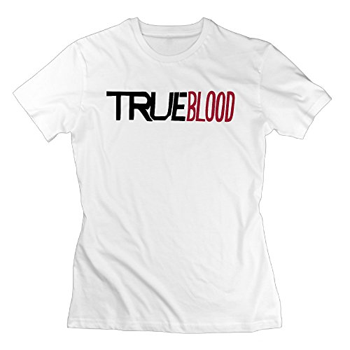 Graphic Design Colleges Vintage Lady True Blood White T-shirts